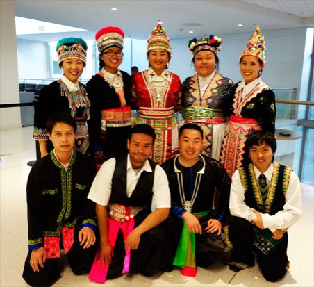 Cambodian Dance Troup