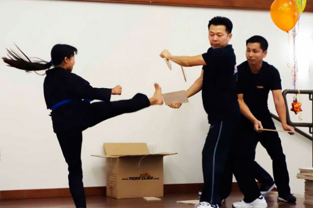 Vietnamese Karate Kids