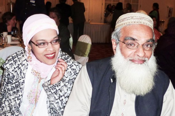 Muslim Father-Daughter