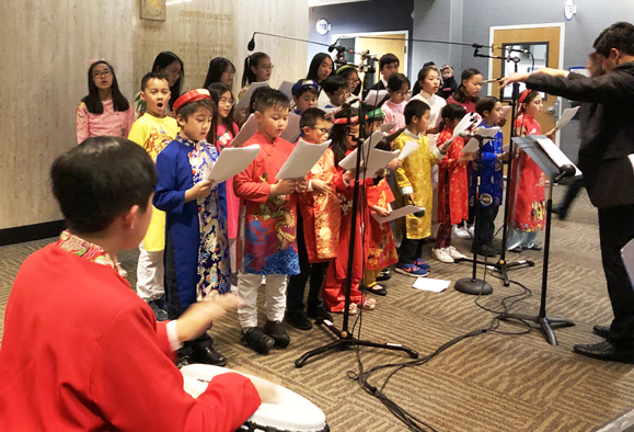 1/29/20 Vietnamese Children's Choir