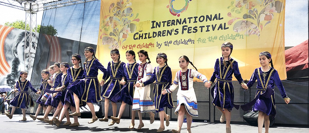 4-27-19 Childrens' Festival - Armenian Dance - C19 Children