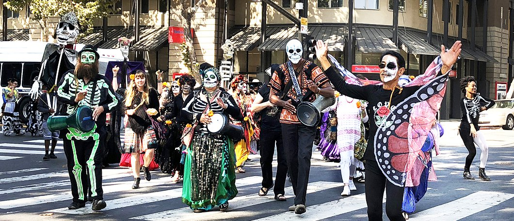 10-21-18 Day of the Dead San Jose Parade - Sharat