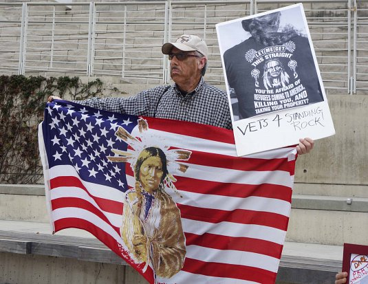 12-5-16 Vets for Standing Rock - SJ City Council